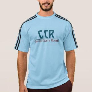 T-shirt de technologie d'Adidas des hommes avec le