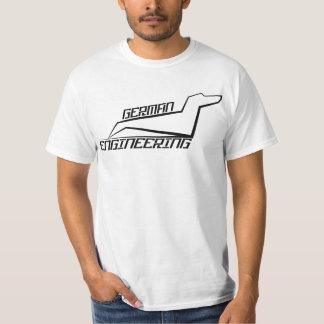 T-shirt de teckel - ingénierie allemande