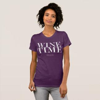T-shirt de Temps de vin