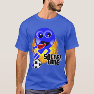 T-shirt de temps du football