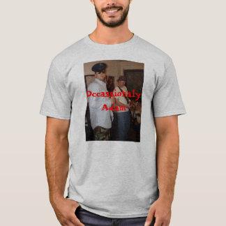 T-shirt DE TEMPS EN TEMPS chemise d'ADAM avec le site Web