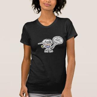 T-shirt de tennis avec la copie personalizable de