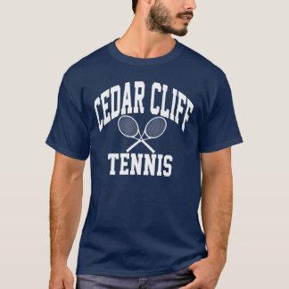T-shirt de tennis de falaise de cèdre