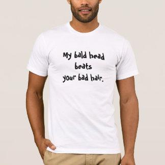 T-shirt de tête chauve