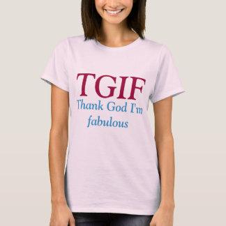 T-shirt de TGIF.