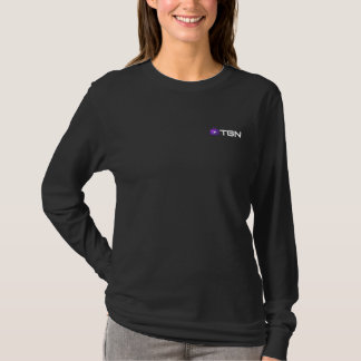 T-shirt de TGN, femmes - signature, dans le noir