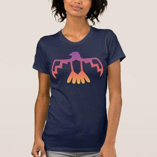 T-shirt de Thunderbird de coucher du soleil