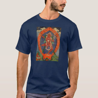 T-shirt de Tibétain de Vajrayogini de tissu de