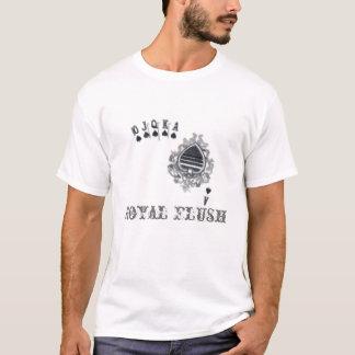 T-shirt de tisonnier de quinte royale