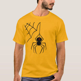 T-shirt de toile d'araignée