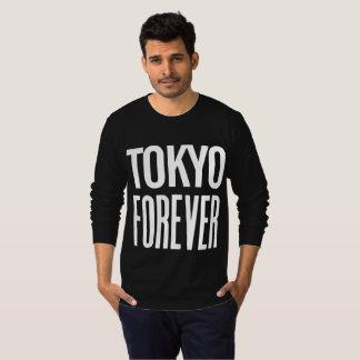 T-shirt De Tokyo longue chemise de douille pour toujours