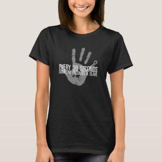 T-shirt de trafic humain de la conscience des