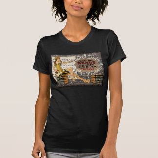 T-shirt de traînée de bibliothèque
