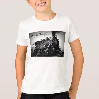 T-shirt de trains d'amours