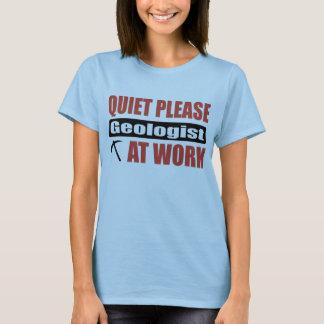 T-shirt De tranquillité géologue svp au travail