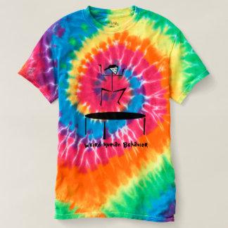 T-shirt De trempoline étrange de comportement humain