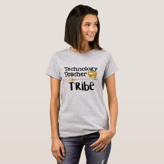 T-shirt de tribu de professeur de technologie