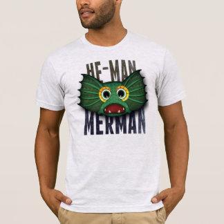 T-shirt de triton d'homme viril