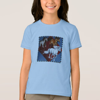 T-shirt de trois mustangs