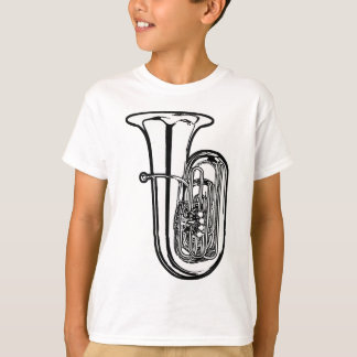 T-shirt de tuba d'enfants