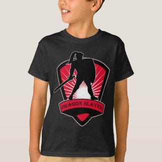 T-shirt de tueur de dragon de chevalier