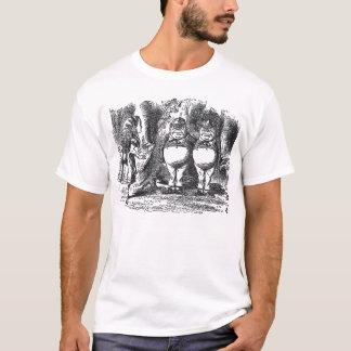 T-shirt de Tweedledum et de Tweedledee