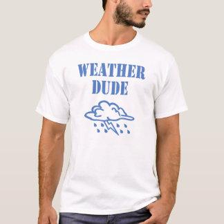 T-shirt de type de temps