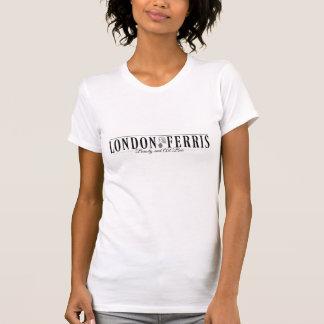 T-shirt de v-cou de Londres Ferris
