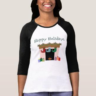 T-shirt de vacances de bas de cheminée