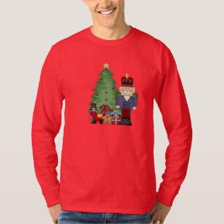 T-shirt de vacances de casse-noix de Noël des