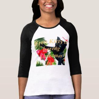 T-shirt de vacances de filles de femmes d'amusemen