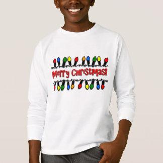 T-shirt de vacances de la Long-Douille des enfants