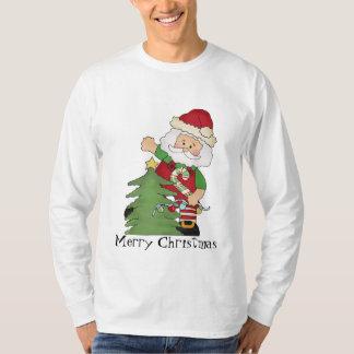 T-shirt de vacances de Père Noël de Noël des