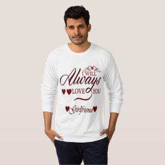 T-shirt de valentine