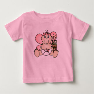 T-shirt de Valentine de cupidon de bébé