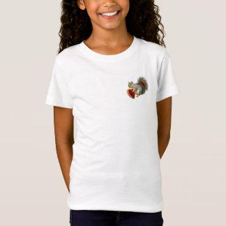 T-shirt de Valentine d'écureuil