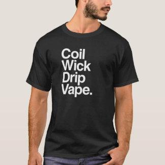 T-shirt de Vape d'égouttement de mèche de bobine