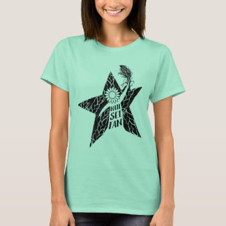 T-shirt de végétalien de Seitan de grêle