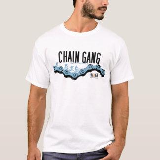 T-shirt de vélo de montagne - chaîne de forçats