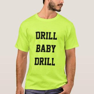 T-shirt de vert de sécurité de foret de bébé de