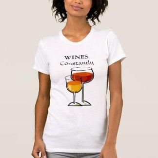 T-shirt De vins chemise de Winer constamment -