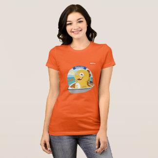 T-shirt de VIPKID Barbade (orange)