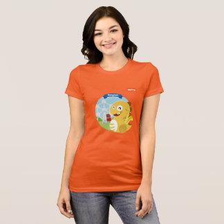 T-shirt de VIPKID Belgique (orange)