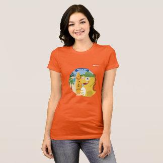 T-shirt de VIPKID Porto Rico (orange)