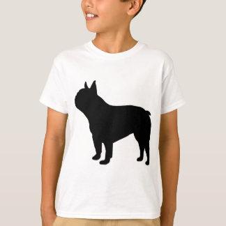 T-shirt ` de vitesse français de bouledogue