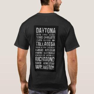 T-shirt de voies de course