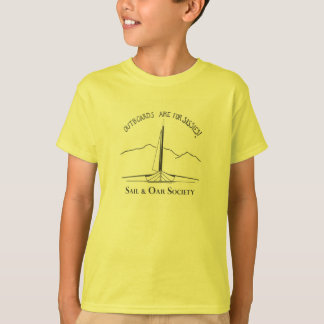 T-shirt de voile et d'aviron pour des enfants