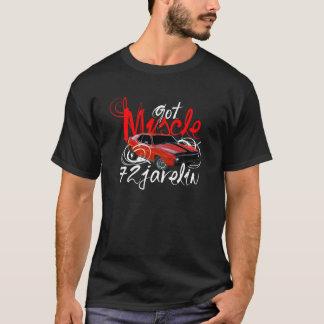 T-shirt de voiture de muscle de 72 javelots