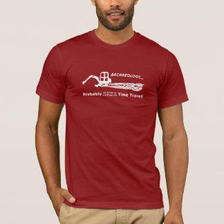 T-shirt de voyage de temps