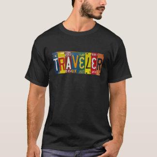T-shirt de voyageur